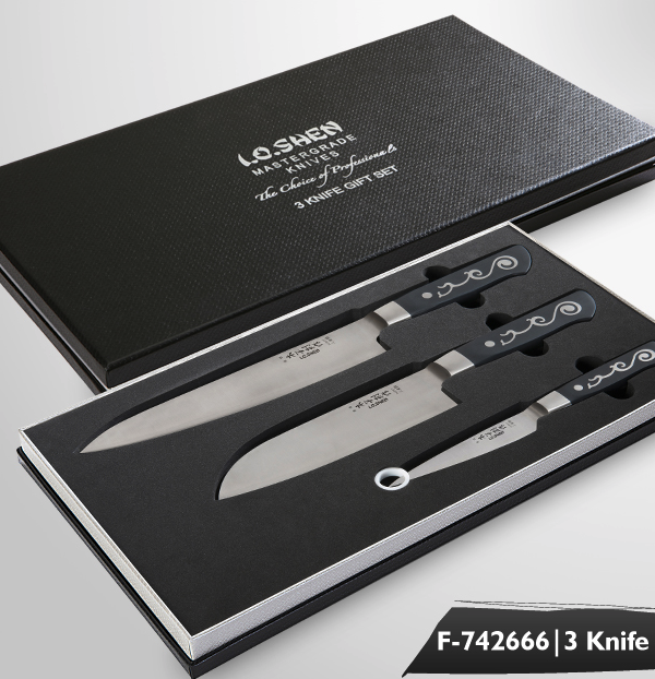 F-742666 3 Piece Knife Set